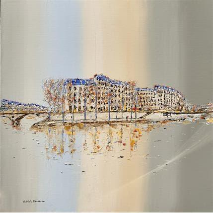 Patrick Rousseau Après-midi paisible 80 x 80 cm