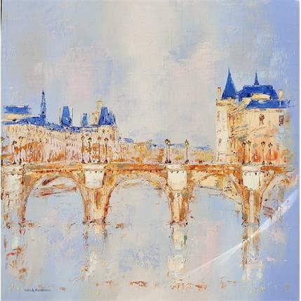 Rousseau Patrick Quai de Seine 100 x 100 cm