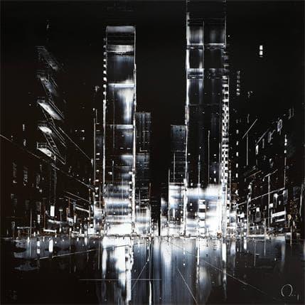 Julien Rey City Night 80 x 80 cm