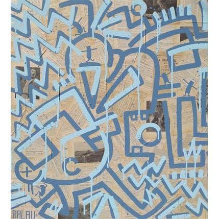 Ralau La Grammaire 100 x 100 cm
