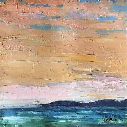 Cindy Carrillo Blush Sky 25 x 25 cm