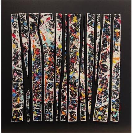 Luc Langeron Bande color 12 50 x 50 cm