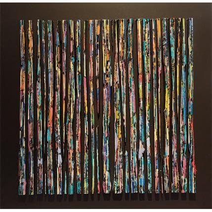 Luc Langeron Bande color 26 80 x 80 cm