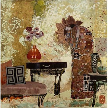 Karine Romanelli La villa 36 x 36 cm