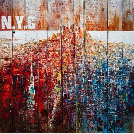 Pierre Reymond New York 100 x 100 cm