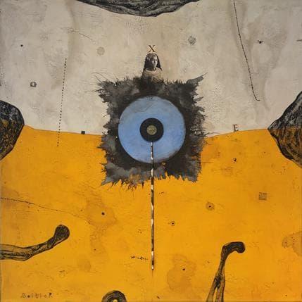 Thierry Boitier Celestial circle 70 x 70 cm