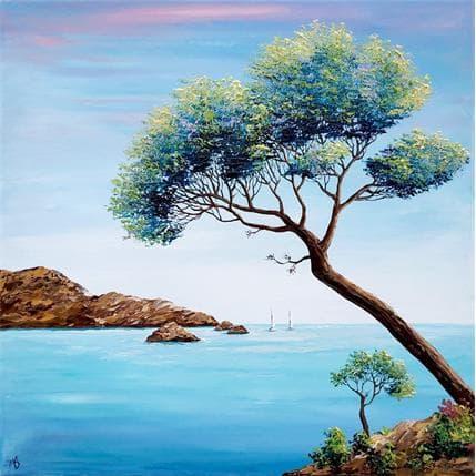 Blandin Magali Rêve d'évasion n°2 50 x 50 cm