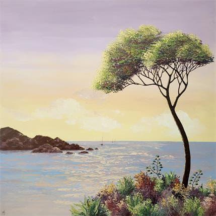 Blandin Magali Contemplation 80 x 80 cm
