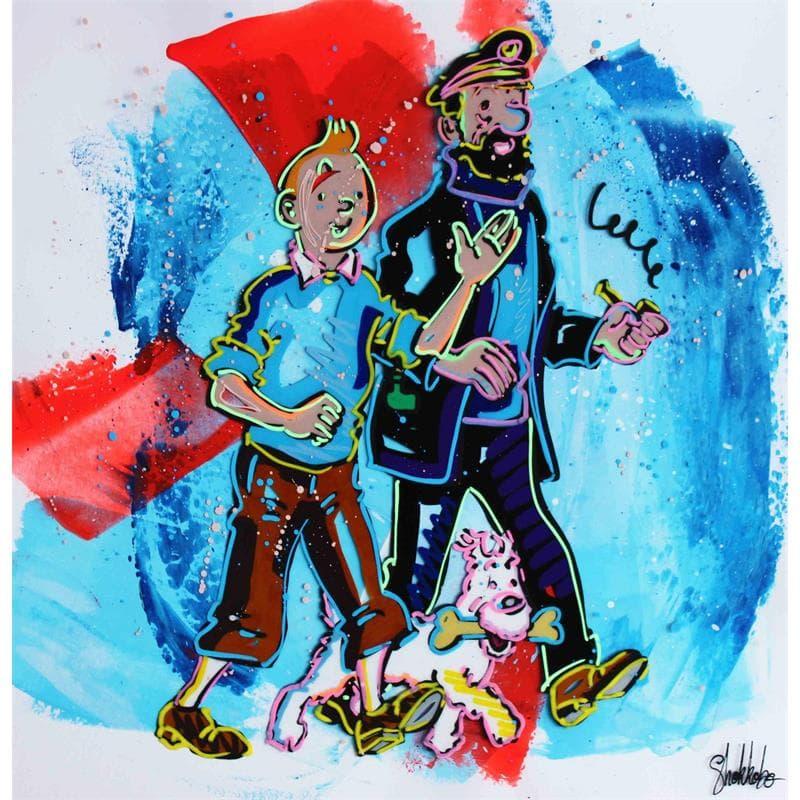 Tintin et ses amis 167d
