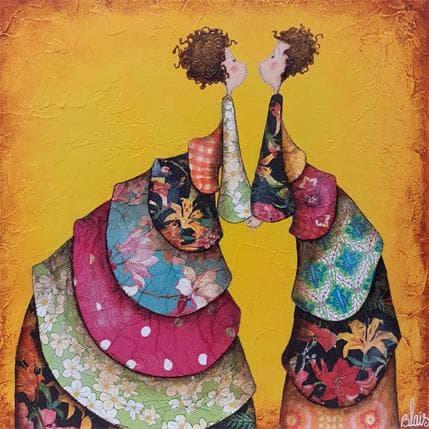 Delphine Blais Agathe et Théophile 25 x 25 cm