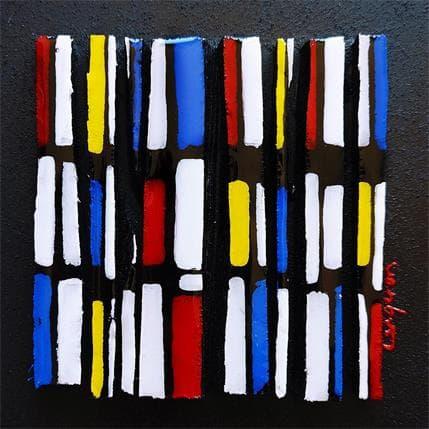 Langeron Luc Hommage Mondrian Bc 9 13 x 13 cm