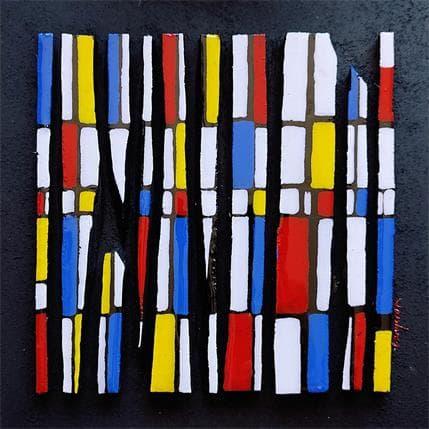 Langeron Luc Hommage Mondrian Bc 10 25 x 25 cm