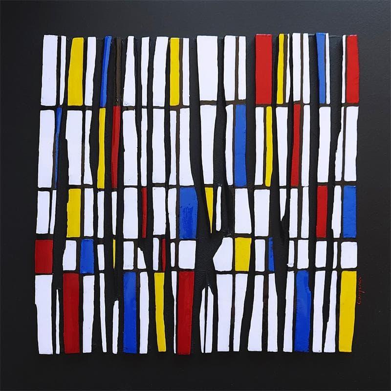 Hommage Mondrian Bc 15