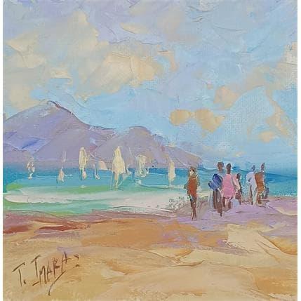 Tatiana Jmara playa de otoño 13 x 13 cm