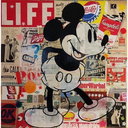 Kikayou Mickey Vintage 80 x 80 cm