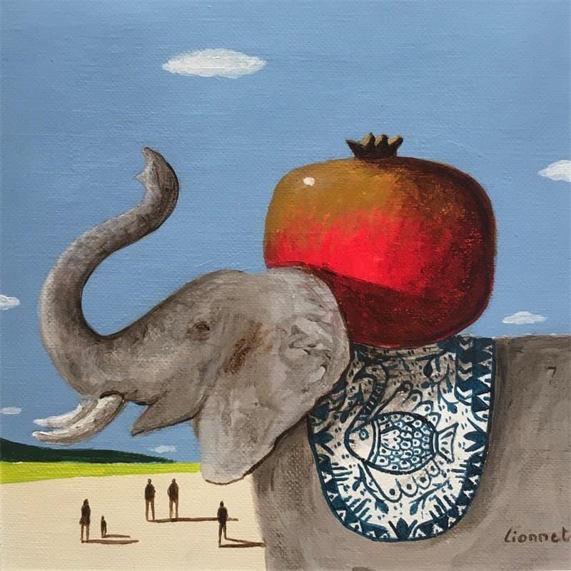 Eléphant à la Grenade