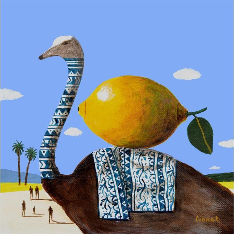 Autruche au Citron