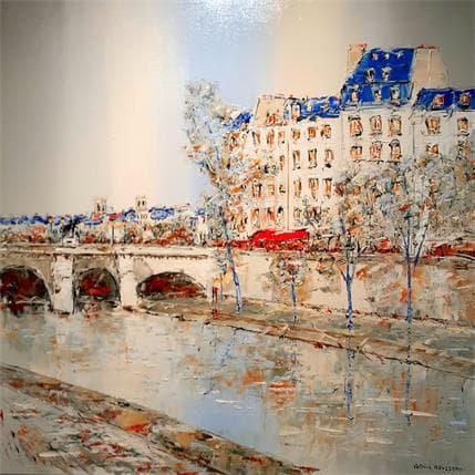Rousseau Patrick Oublier la pluie 80 x 80 cm