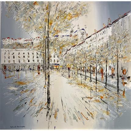 Rousseau Patrick Allée d'automne 100 x 100 cm