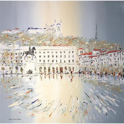 Rousseau Patrick Visiting Lyon 100 x 100 cm