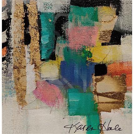 Karen Hale PUZZLED 13 x 13 cm