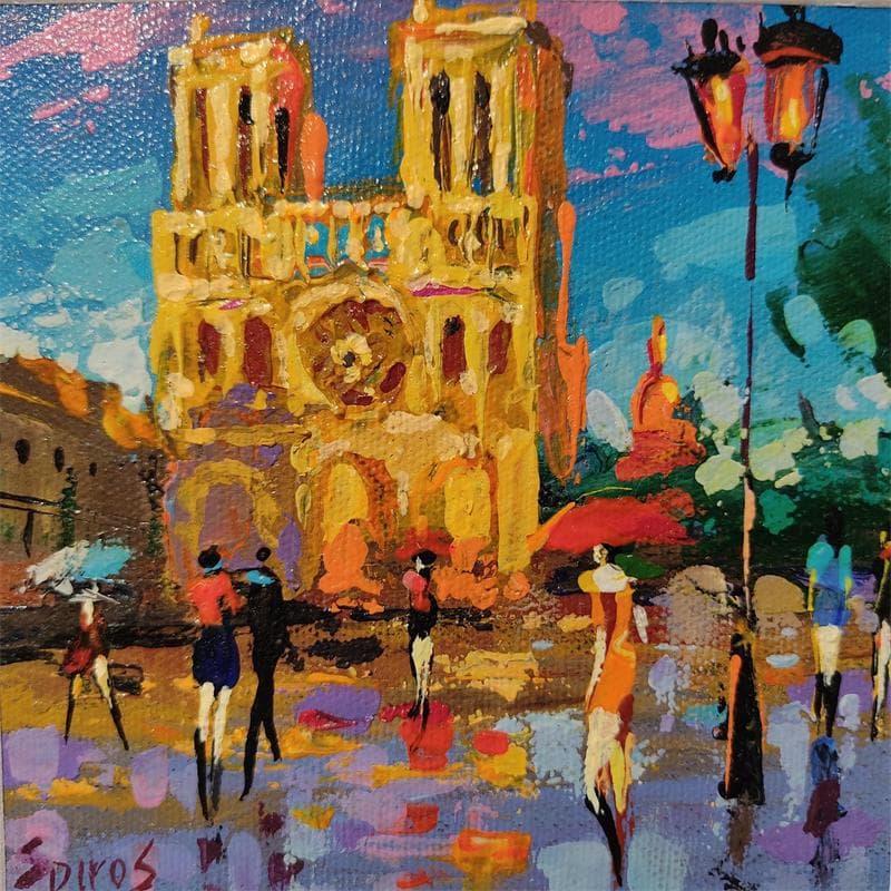Notre Dame evening