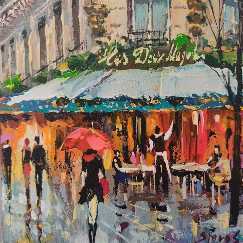 Rainy Parisian sketches