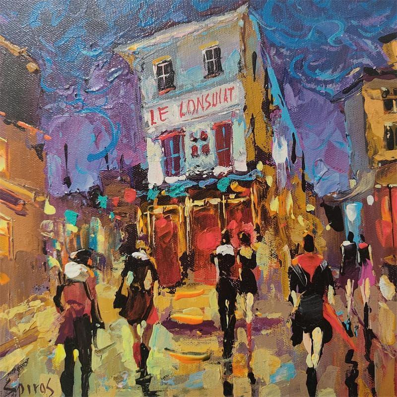 Parisian walks at night
