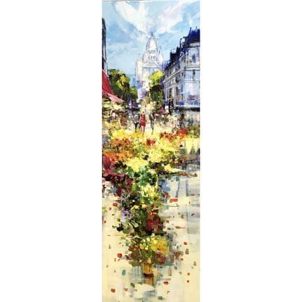 Frédéric Thiéry Des fleurs pour le Sacré cœur 40 x 120 cm