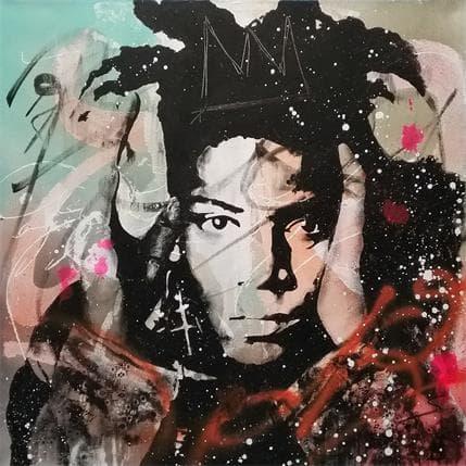 Sergi Mestres Basquiat 70 x 70 cm