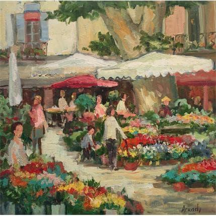 Arkady Jour de marché 36 x 36 cm