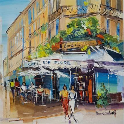 Salenko Anna Café de Flore 25 x 25 cm