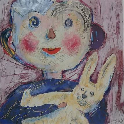 Miguel De Sousa Mon petit lapin 25 x 25 cm