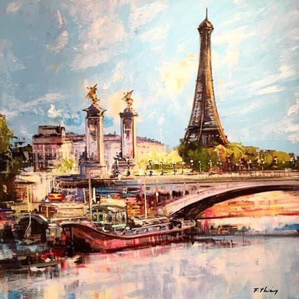 Frédéric Thiéry Pont Alexandre 3 80 x 80 cm