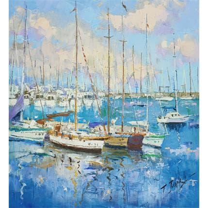 Jmara Tatiana puerto deportivo 36 x 36 cm
