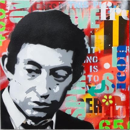 Philippe Euger Gainsbourg 36 x 36 cm
