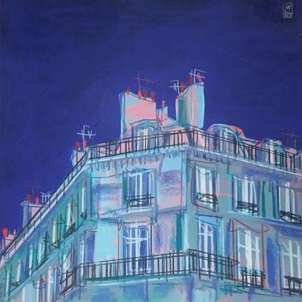 Olivier Anicet Minuit 36 x 36 cm