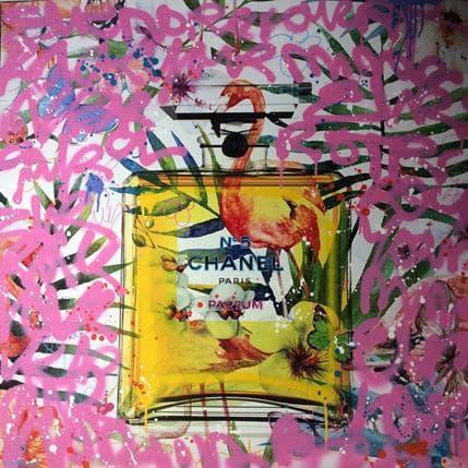 Fabien Novarino Taged N°5 100 x 100 cm