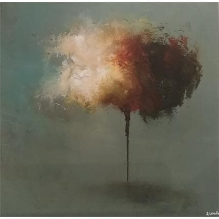 Jonas Lundh Poetry tree 3 25 x 25 cm