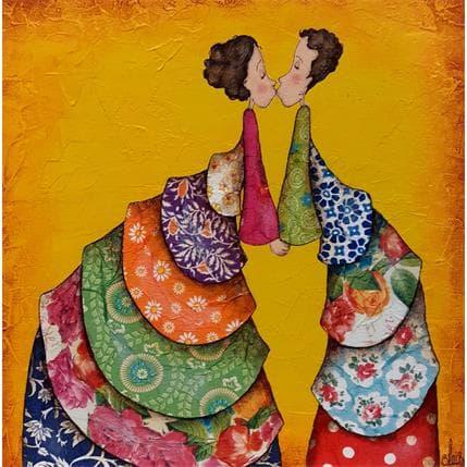 Delphine Blais Ninon et Lucie 25 x 25 cm