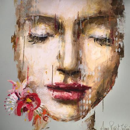 Anne Pivot-Iafrate Méline 120 x 120 cm