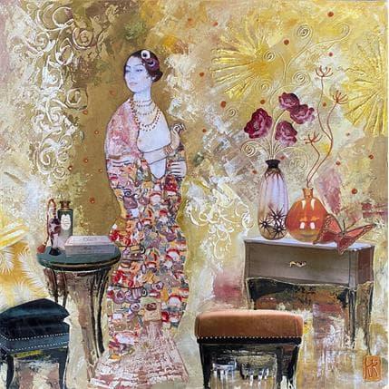 Romanelli Karine Le mois d'août 50 x 50 cm