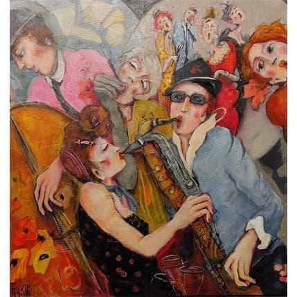 Garilli Nicole Hot Club pour Jazz Lovers 1 80 x 80 cm