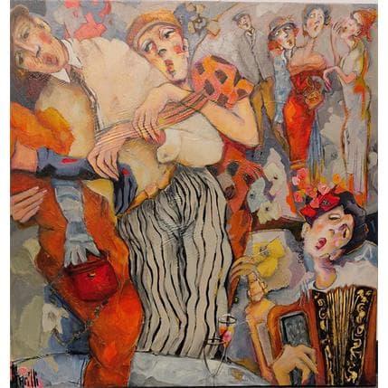 Garilli Nicole Hot Club pour Jazz Lovers 2 80 x 80 cm