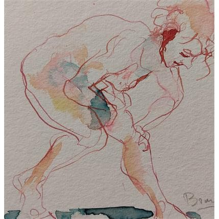 Sebastien Brunel alice penchée en avant 13 x 13 cm