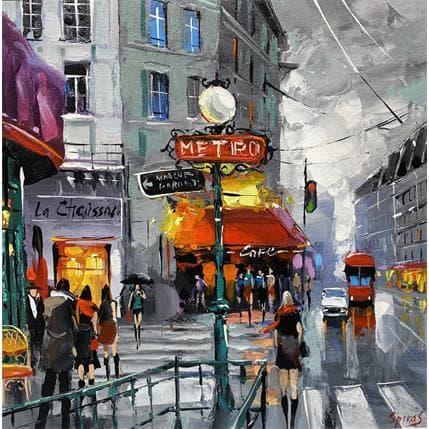 Dmitry Spiros It's a rainy morning 36 x 36 cm