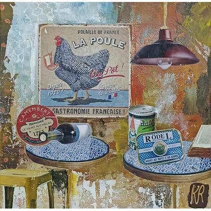 Karine Romanelli Ma poule 19 x 19 cm
