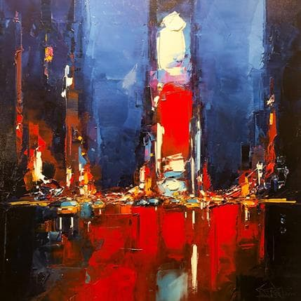 Daniel Castan Time square 2 80 x 80 cm