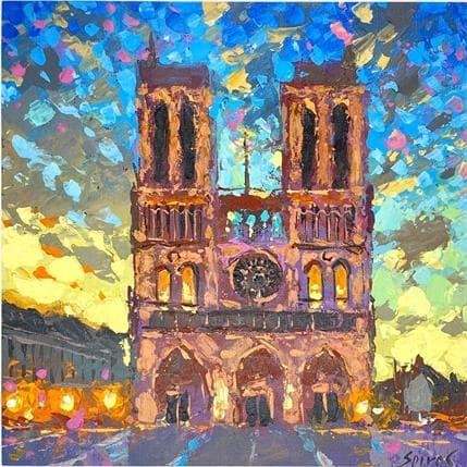 Dmitry Spiros The Bells of Notre Dame 25 x 25 cm