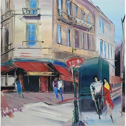 Anna Salenko Metro de Paris 25 x 25 cm